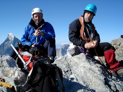 Bill and Des Obergabelhorn