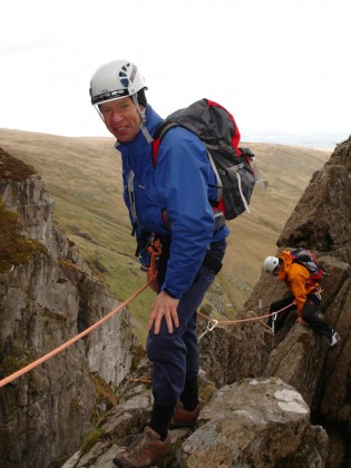 Dave Tucker & Chris Alltree, Amphitheatre Buttress