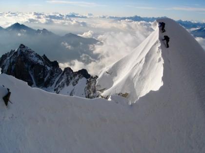 Frontier Ridge Mont Maudit