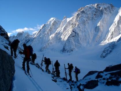 Above Glacier d\' Argentiere, Haute Route