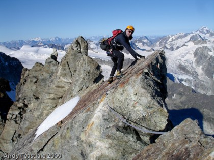 Rick Brownlie, South ridge of the Grand Cornier